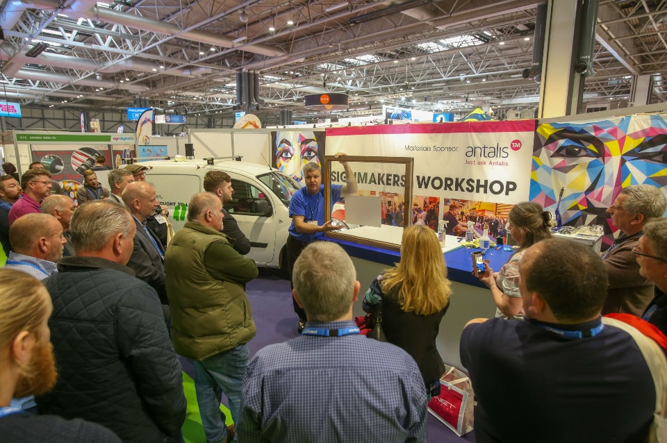 New live demo areas and learning zones announced for Sign & Digital UK