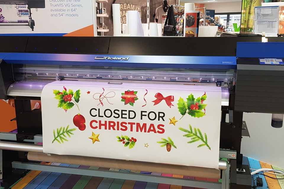 Closed For Chirstmas Min